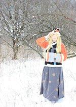 Cosplay-Cover: SeeU ~ snow hanbok