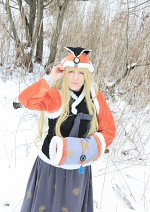 Cosplay-Cover: SeeU ~ snow hanbok