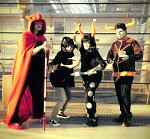 Cosplay-Cover: Terezi Pyrope [Cape]
