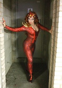 Cosplay-Cover: Red Lantern Mera