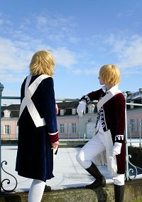 Cosplay-Cover: Alfred F. Jones [Revolutionary War Version]