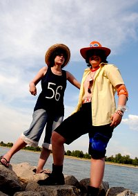 Cosplay-Cover: Monkey D. Luffy - モンキー・D・ルフィ [Aces Depature]