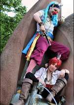 "Cosplay-Cover: ""Akagami"" Shanks [Treasure-King] (Eigenkreation)"