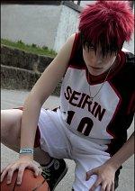 Cosplay-Cover: Taiga Kagami [Seirin Trikot - white]