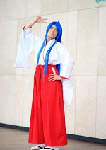 Cosplay-Cover: Konata (Miko)