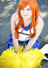 Cosplay-Cover: Mikuru Asahina (Cheerleader)