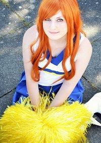 Cosplay-Cover: Mikuru Asahina (Cheerleader)