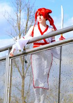 Cosplay-Cover: Erza Scarlet [Movie - Archer Armour]