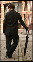Cosplay-Cover: Mycroft Holmes