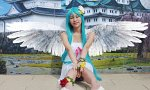 Cosplay-Cover: Miku Hatsune (Project Diva - white dress)