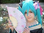 Cosplay-Cover: Hatsune Miku (Project Diva)