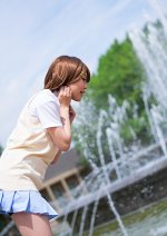 Cosplay-Cover: Yui Hirasawa (Sommer Schuluniform)