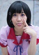 Cosplay-Cover: Tsubasa Hanekawa (Sommer Schuluniform)