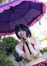 Cosplay-Cover: Rikka Takanashi (Sommer Schuluniform)