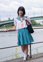 Cosplay-Cover: Onna no Ko (KyoAni CM: Ikitaku Naru Omise-hen)