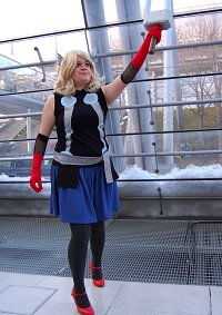 Cosplay-Cover: Thor [female fanart version]