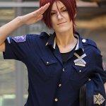 Cosplay: Rin Matsuoka [Officer Vers.]