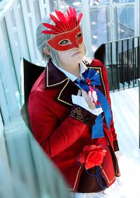 Cosplay-Cover: Miles Edgeworth (Fanart)
