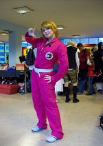 Cosplay-Cover: Kyoko (Pink Overall)