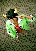 Cosplay-Cover: Lambo Bovino ・ ランボ ボヴィーノ・[10 YL] ・ [Green Suit]