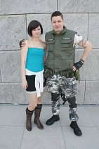 Cosplay-Cover: Chris Redfield (S.T.A.R.S.)