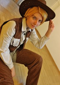 Cosplay-Cover: Alfred F. Jones [Child/ Cowboy]