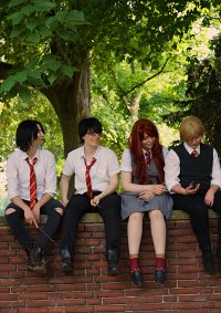 Cosplay-Cover: James Potter (Sommeruniform)