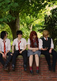 Cosplay-Cover: Lily Evans [Sommer Uniform]