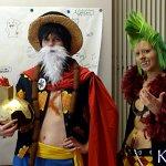 Cosplay: Luffy / Gladiator Lucy (Dressrosa)