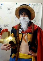 Cosplay-Cover: Luffy / Gladiator Lucy (Dressrosa)