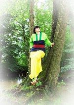Cosplay-Cover: Mulan ~Grüner Hanfu~