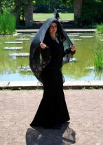 Cosplay-Cover: Morticia Addams