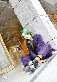 Cosplay-Cover: Joker (klassik Eigenversion)