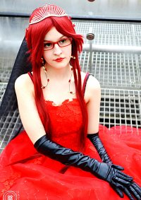 Cosplay-Cover: Grell Sutcliff-Spears