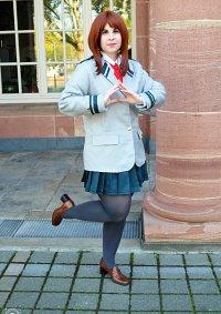 Cosplay-Cover: Ochako Uraraka (Schuluniform)