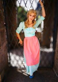 Cosplay-Cover: Cinderella Arbeitskleid/Blumenkleid