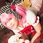 Cosplay: Madoka Kaname (Valentine's Day)