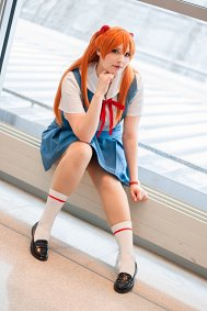 Cosplay-Cover: Asuka Sōryū Langley 『School Uniform』