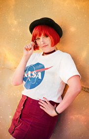 Cosplay-Cover: Mars-Chan『NASA』(Earth-Chan Meme's)
