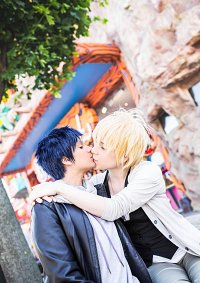 Cosplay-Cover: Aomine Daiki (Street Fashion)