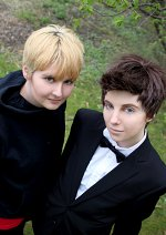 Cosplay-Cover: Tenth Doctor - Black Suit