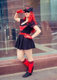 Cosplay-Cover: Batwoman Bombshell