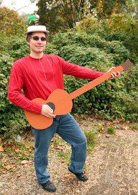 Cosplay-Cover: Les Claypool (der gitarrentyp im intro)