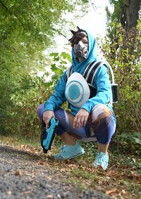 Cosplay-Cover: Tracer Graffity skin