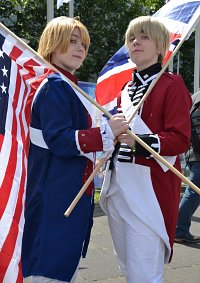 Cosplay-Cover: America/Alfred F. Jones (War of Independence)
