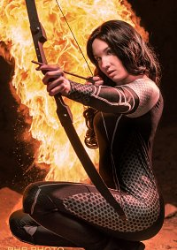 Cosplay-Cover: Katniss Everdeen [Catching Fire] - Fire Edition