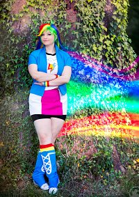 Cosplay-Cover: Rainbow Dash - Equestria Girl