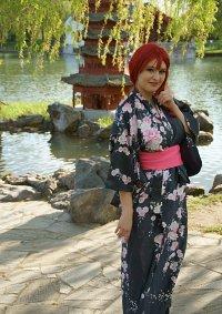 Cosplay-Cover: Tomochika Shibuya Kimono fanart