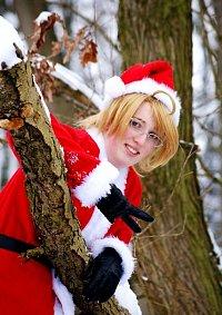 Cosplay-Cover: Alfred F. Jones ▪ Santa Claus