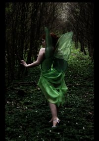 Cosplay-Cover: Green Fairy  (Moulin Rouge)
